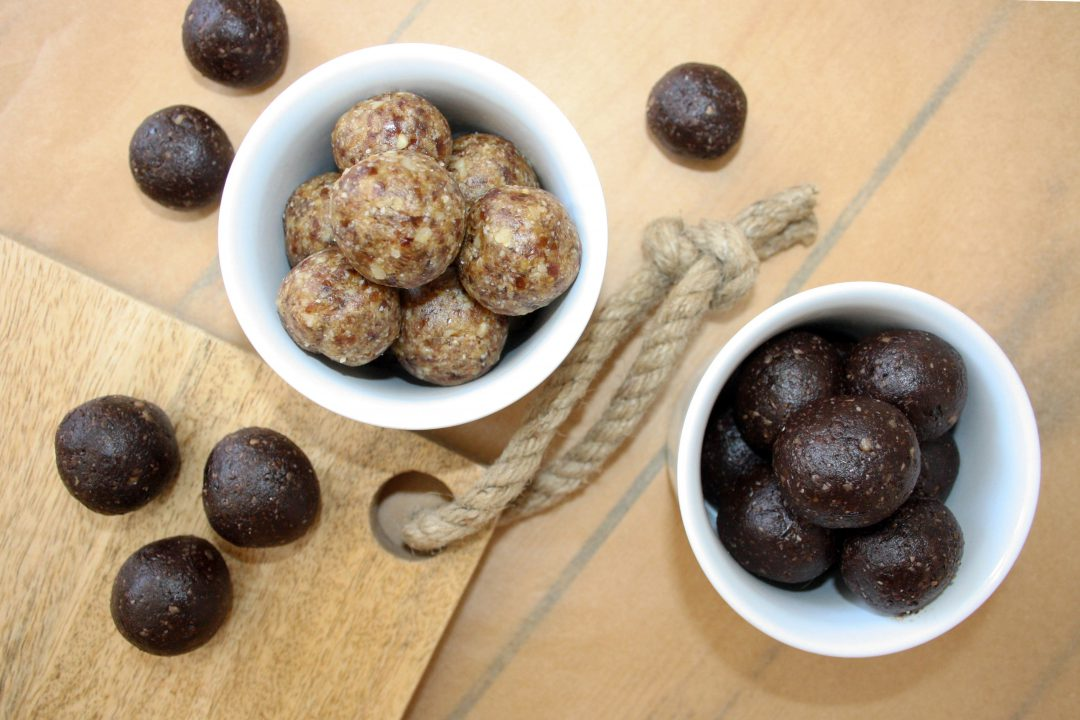 raw energy balls vegan healthy food rezept