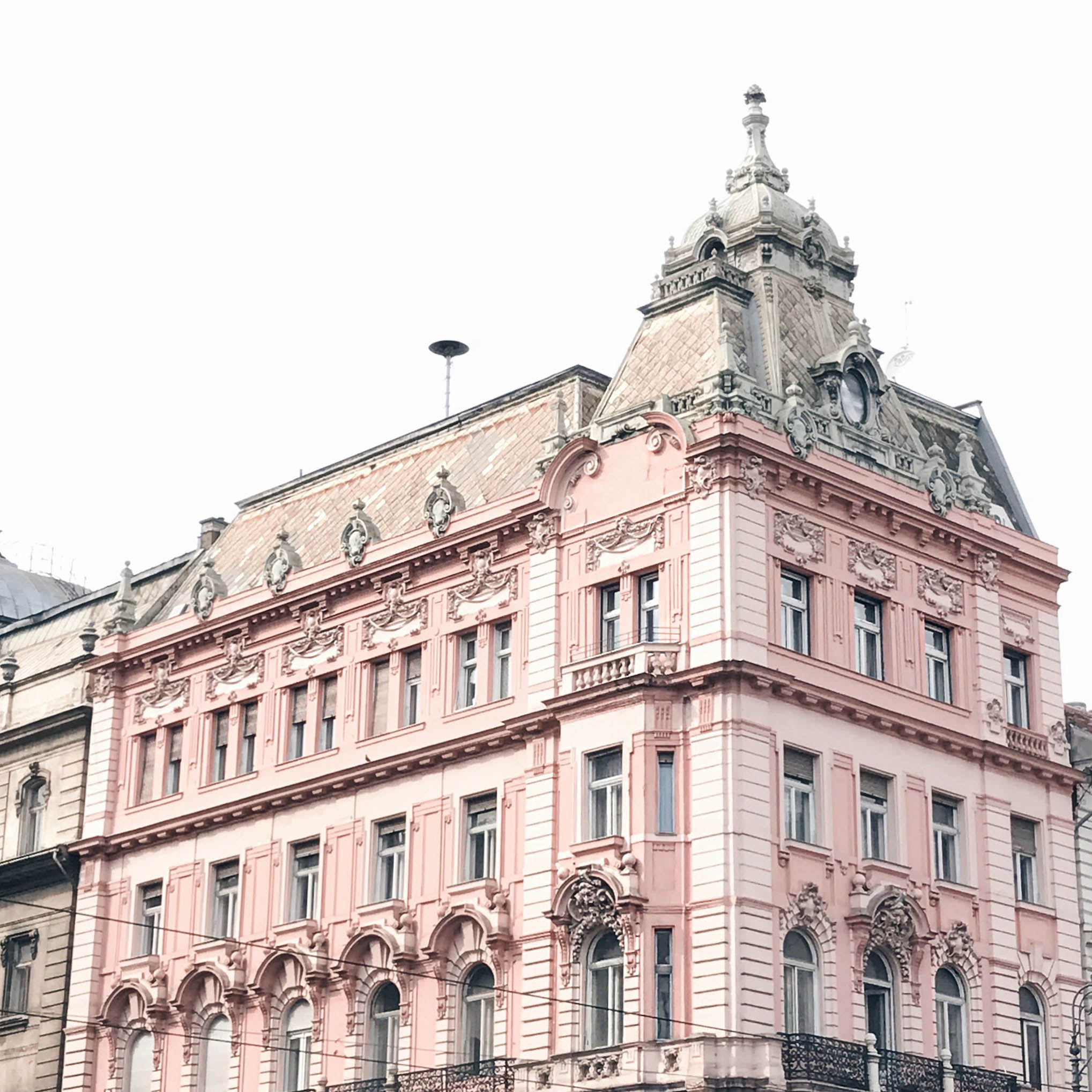 Budapest Travel Diary architecture